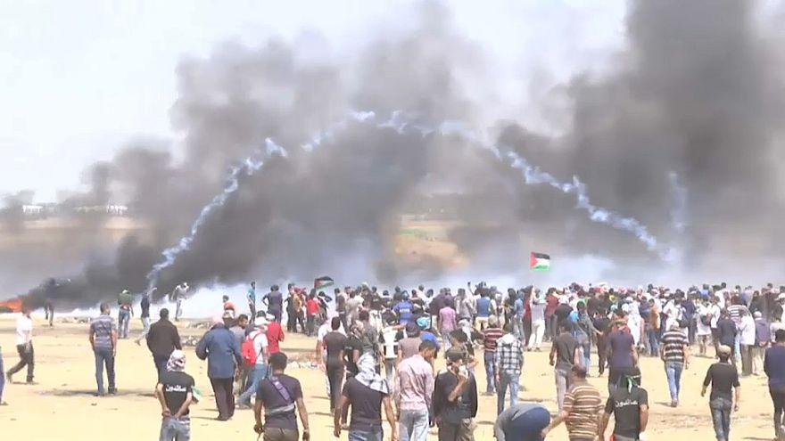 Сектор Газа: новые протесты