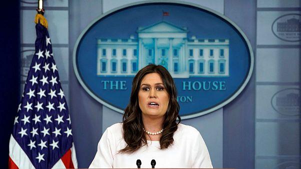 سارا سندرز، سخنگوی کاخ سفید