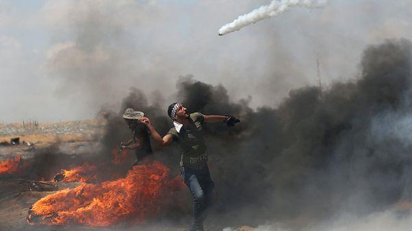 Protestos regressam à Faixa de Gaza