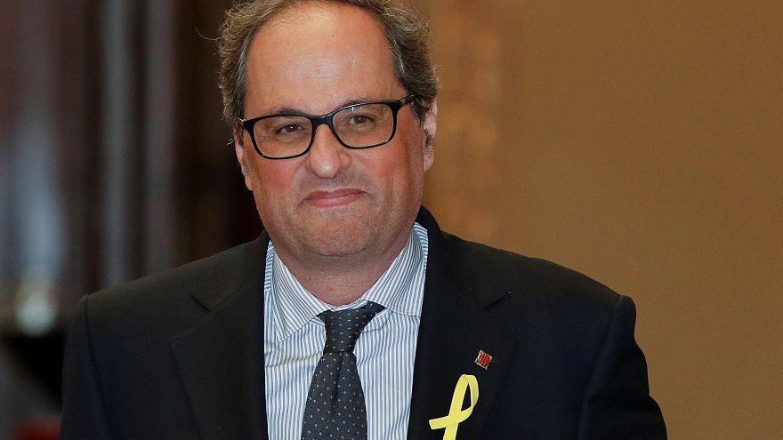 Puigdemonts Joker: Wer ist Quim Torra (55)?