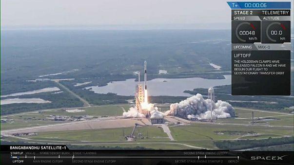 Успешный запуск Falcon-9