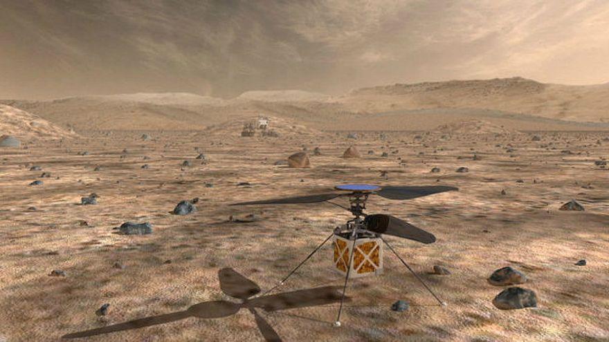 ناسا ترسل طائرة هليكوبتر للمريخ