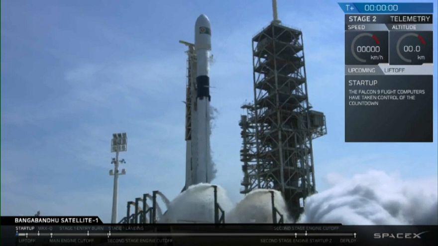 SpaceX estrena un renovado Falcon 9