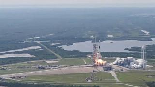 SpaceX lança foguetão Block-5