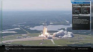 آخرین نسل موشک اسپیسایکس، اولین ماهواره بنگلادش را در مدار زمین قرار داد