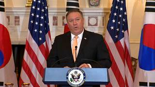 """Pompeo promete futuro de """"prosperidade e paz"""" à Coreia do Norte"""
