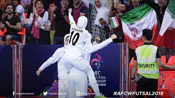 قهرمانی مجدد فوتسال زنان ایران در آسیا