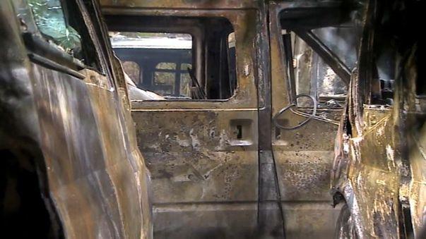 Quemadas 35 ambulancias en el País Vasco en una guerra entre empresas