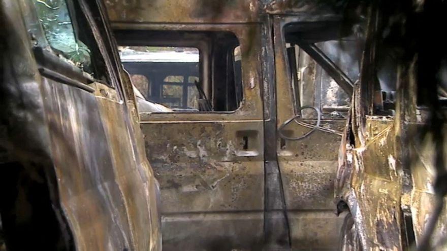 Bilbao: 35 Krankenwagen in Brand gesetzt