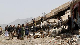 دستکم ۱۱۵ نفر در جریان درگیریهای دو روز گذشته در یمن جان باختند