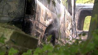 Basque police investigate blaze that destroys 35 ambulances