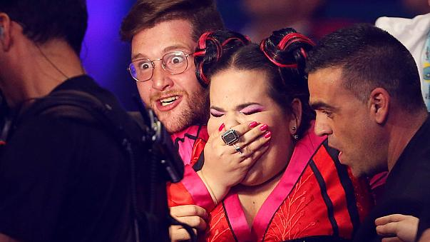 Israel's Netta wins the Eurovision Song Contest 2018