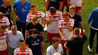هامبورغ يهبط لدوري الدرجة الثانية الألماني للمرة الأولى في تاريخه