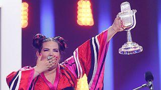 إسرائيل تفوز بنهائي مسابقة يوروفيجين 2018 في لشبونة