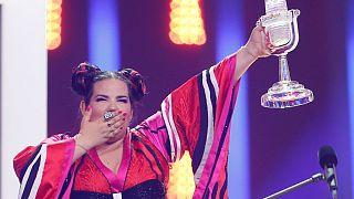 Eurovision 2018'i İsrail kazandı