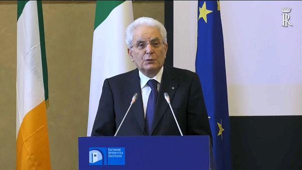 Mattarella ricorda Einaudi e il potere di nomina del Presidente
