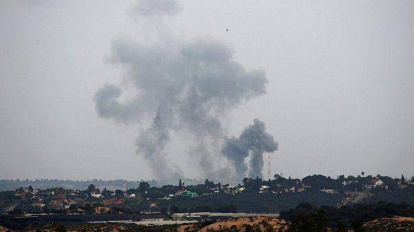 اسرائیل نوار غزه را بمباران کرد