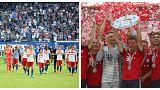 سقوط هامبورگ و قهرمانی بایرن مونیخ در بوندس لیگا