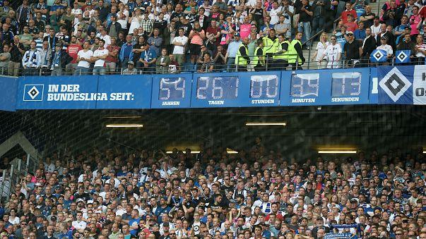 Hamburg 55 sene sonra Bundesliga'ya veda etti