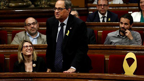 Katalonya'da bağımsızlık yanlılarının başkan adayı henüz seçilemedi