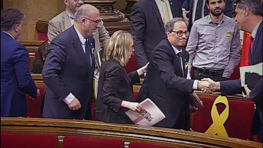 Catalan parliament fails to elect regional president