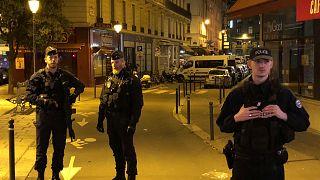 موقع عملية الطعن بوسط باريس