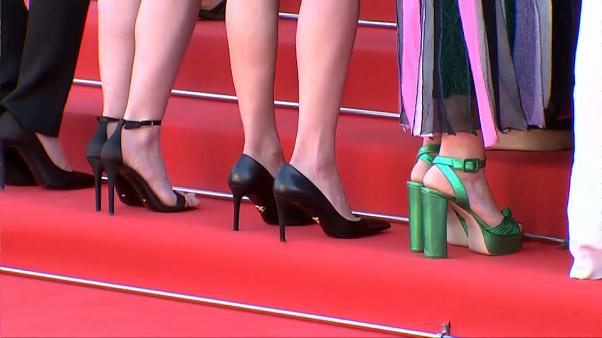 Climbing the red carpet at the Cannes Film Festival