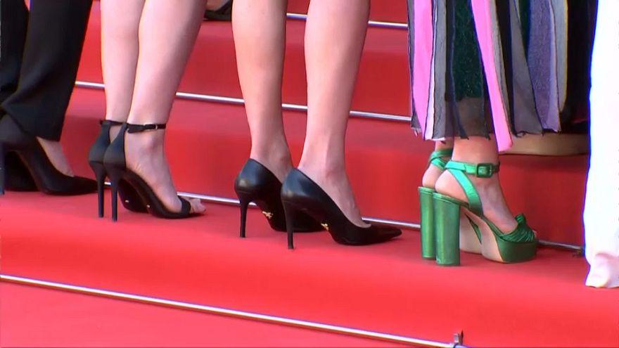 Las mujeres toman la alfombra roja en Cannes