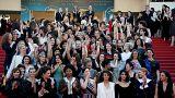 Женский марш в Каннах