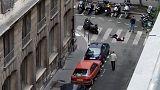 شاهد: اللقطات الأولى من موقع عملية طعن المارة بوسط باريس