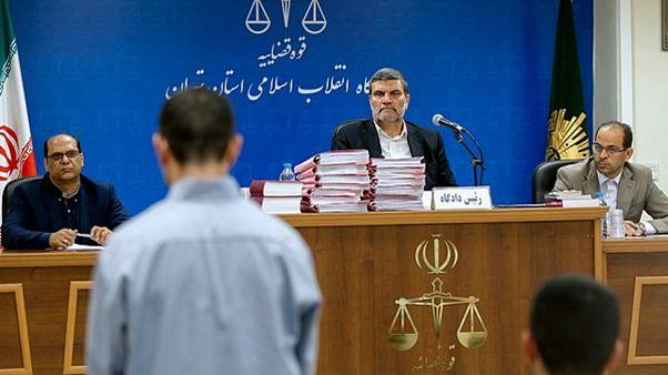 محاکمه اعضای داعش در دادگاه انقلاب تهران به ریاست قاضی صلواتی