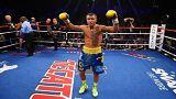 الملاكم الأوكراني فاسيل لوماتشنكو يتوج بلقبه العالمي الثالث