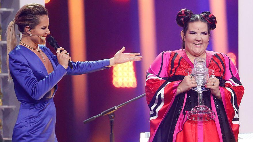 İsrailliler Eurovision zaferini kutluyor