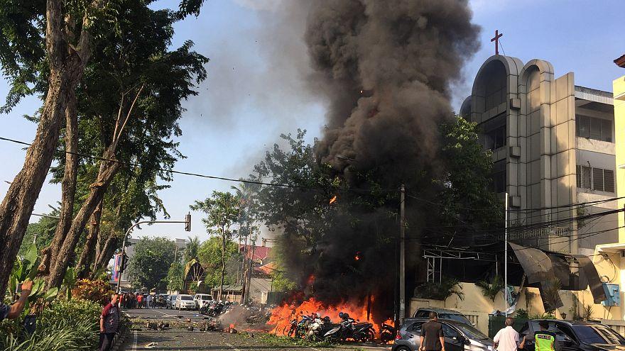 Daesh reivindica atentados na Indonésia