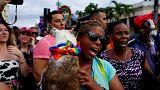 Радужные флаги в Гаване