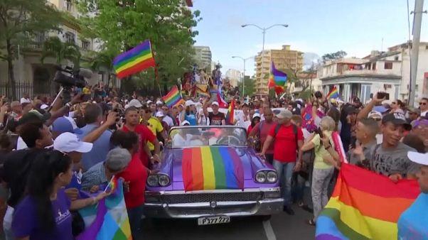 Parada Gay em Cuba