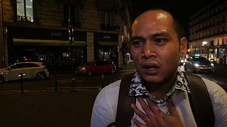 Eyewitnesses describe the panic as the Paris stabbings unfolded