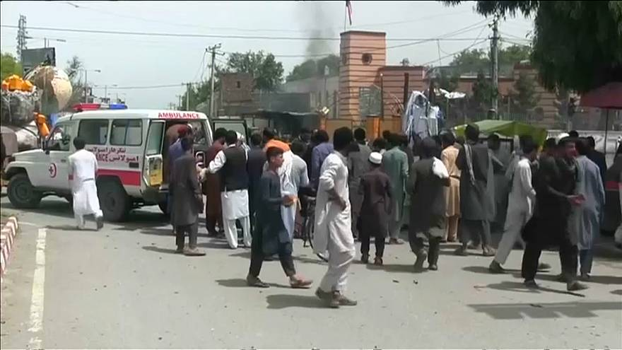 Around 15 people are killed after bomb blasts in Jalalabad