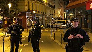 محل حمله با چاقو در پاریس
