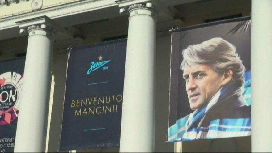 نادي زينيت الروسي والمدرب الإيطالي مانشيني ينهيان عقدهما بالتراضي