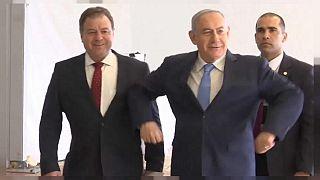 رقص نتانیاهو برای یوروویژن