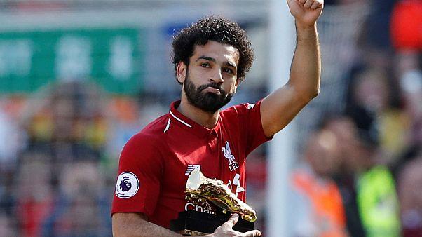 Muhammed Salah 38 maçlı Premier Lig gol rekorunu kırdı