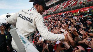 Hamilton impose son rythme en Catalogne