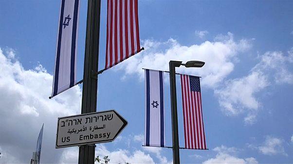 Kudüs'te ABD Büyükelçiliği açılışı için hazırlıklar tamam