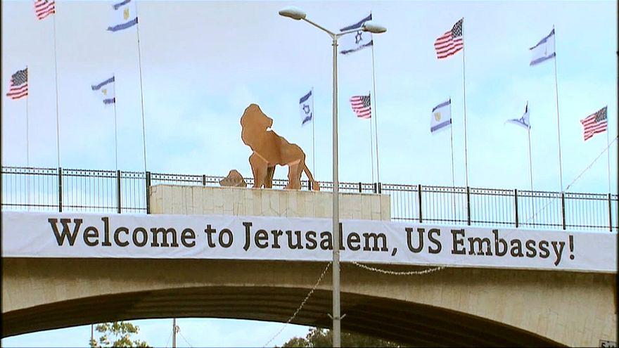 تواصل الاستعدادات النهائية لافتتاح السفارة الأمريكية بالقدس