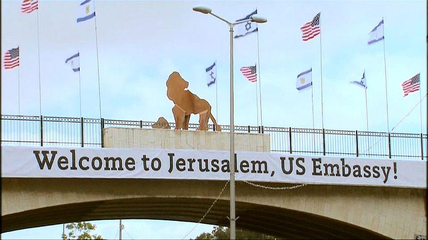 Estados Unidos inaugura este lunes en Jerusalén su embajada rodeada de polémica