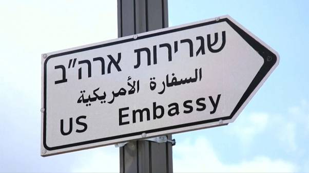 Security is stepped up ahead of Jerusalem embassy move