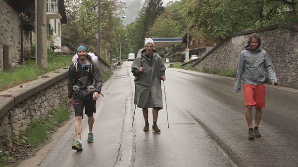 Iron Fly arranca nos Alpes... a pé