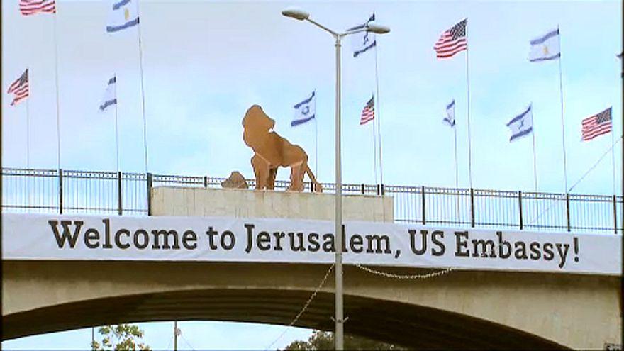 Hétfőn avatják fel az amerikai követséget Jeruzsálemben