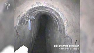 Израиль уничтожил туннель в секторе Газа
